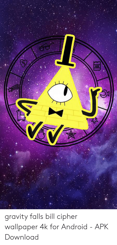 Ice Gravity Falls Bill Cipher Wallpaper 4k For Android Apk