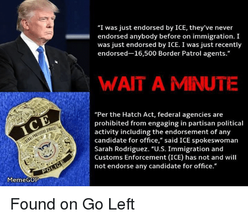 ice meme gop i was just endorsed by ice theyve 4874738 ✅ 25 best memes about meme gop meme gop memes