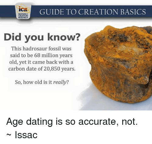Does Carbon Dating Really Work