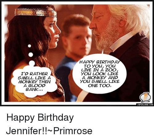 25+ Best Memes About Happy Birthday Jennifer