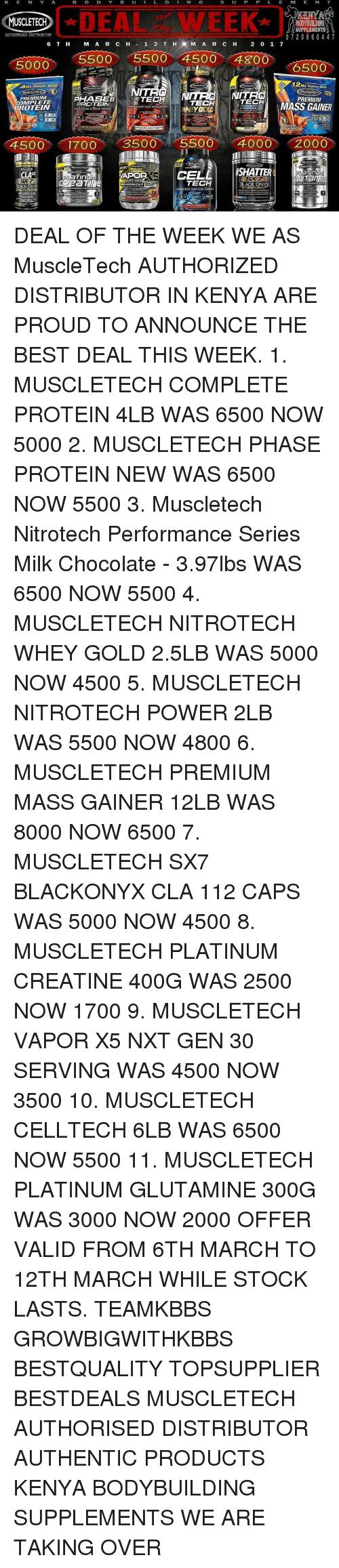 Idea Week Muscletech Supplements Authorised Distrubtor O 7 2 0 6 Nitrotech Whey Gold Lb Lean Memes And Stocks