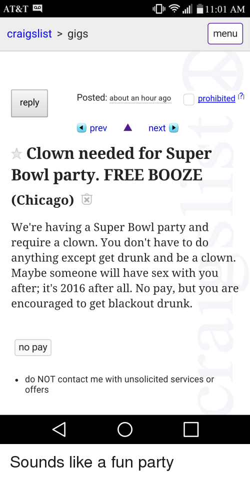 Chicago craigs list sex