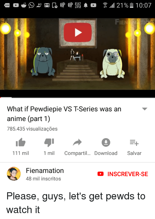 Ie what if pewdiepie vs t-series was an anime part 1 785435.