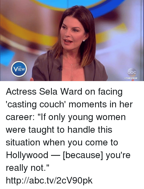 Iew The View Actress Sela Ward On Facing Casting Couch Moments In Her Career If -7867