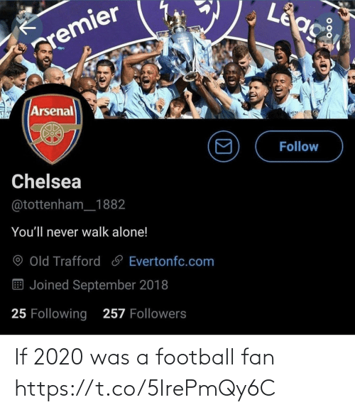 Football, Memes, and 🤖: If 2020 was a football fan https://t.co/5IrePmQy6C