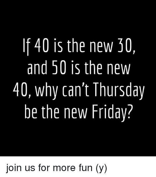 If 40 Is the New 30 and 50 Is the New 40 Why Can't ...