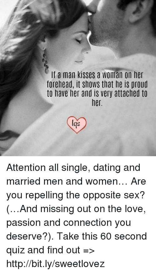 Single dating a married man
