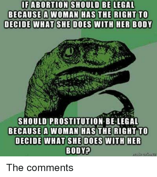 reasons why abortion should be legal
