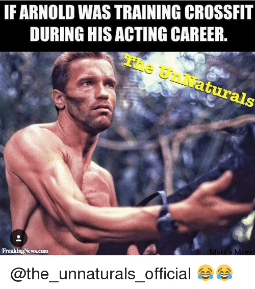 if arnold wastraining crossfit during his acting career make a 12320610 if arnold wastraining crossfit during his acting career make a,Arnold Meme