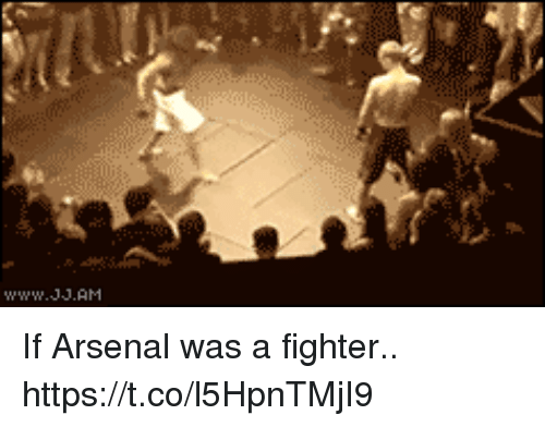 Arsenal, Soccer, and  Fighter: If Arsenal was a fighter.. https://t.co/l5HpnTMjI9