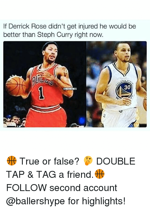 59cc089902ce If Derrick Rose Didn t Get Injured He Would Be Better Than Steph ...