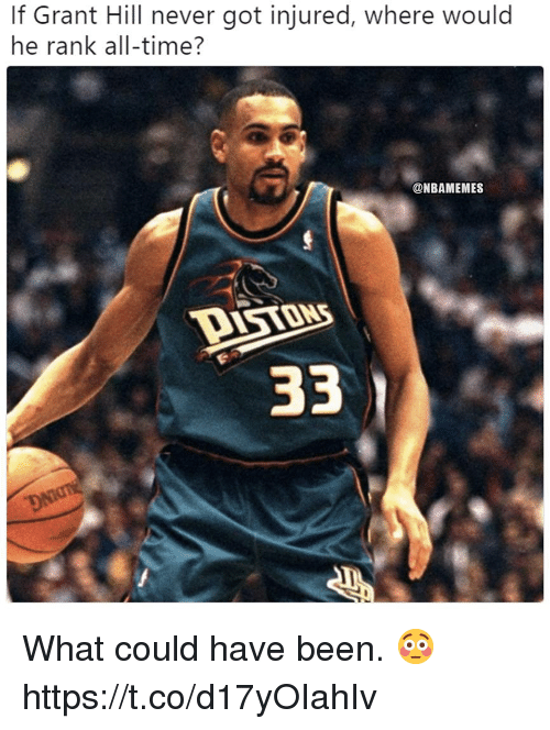 If Grant Hill Never Got Injured Where Would He Rank All Time What