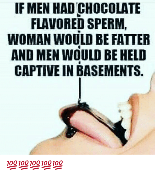 Flavored sperm