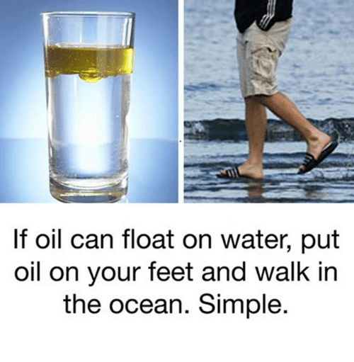 can water float on water Defying thousands of years of conventional wisdom, scientists are reporting that it is possible for water to float on oil, a discovery they say has important potential applications in cleaning up oil spills that threaten seashores and fisheries.