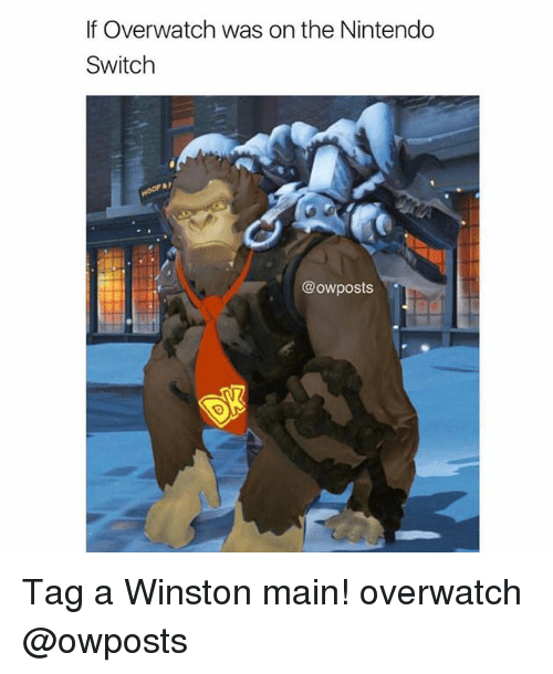 Overwatch Nintendo Switch Owposts Tag