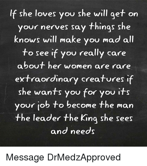 if she really loves you