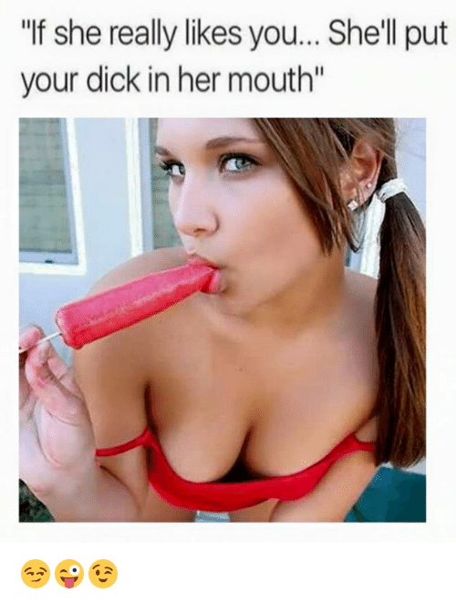 Dick in mouth pictures