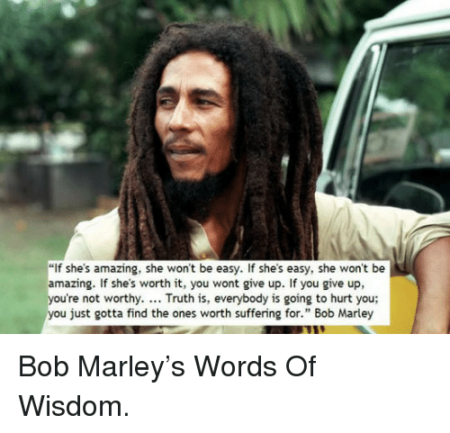 Ideal Bob Marley If Shes Amazing Quote Poster If She S Amazing She