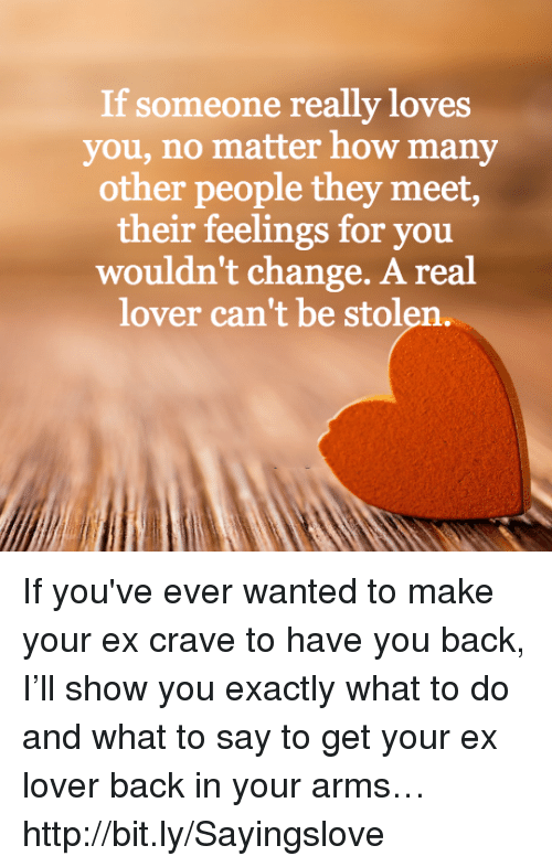 how to know when someone really loves you