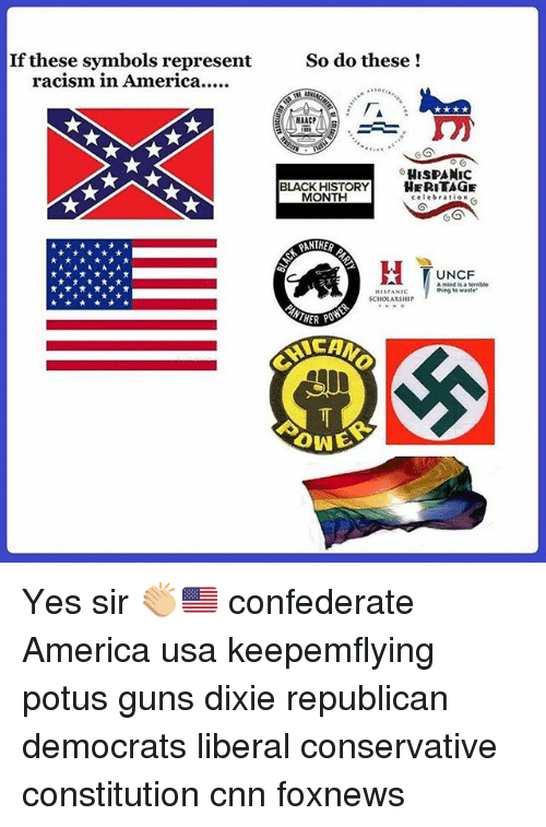 If These Symbols Represent Racism In America So Do These Naacp