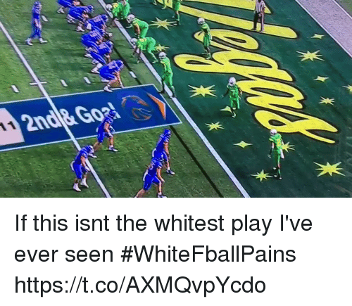 Basketball, White People, and Play: If this isnt the whitest play I've ever seen #WhiteFballPains https://t.co/AXMQvpYcdo