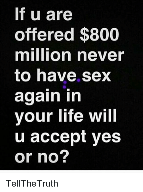 Will i ever have sex again