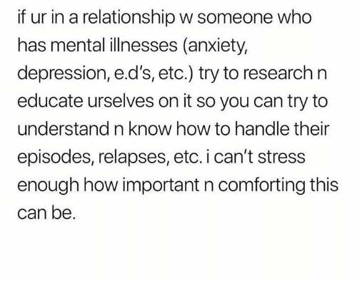 how to handle someone with anxiety