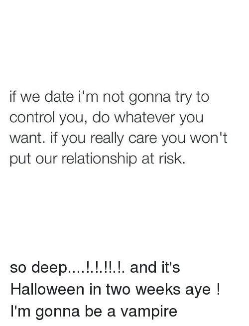 Dating control