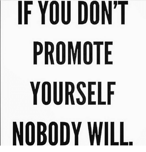 Image result for how to promote yourself image