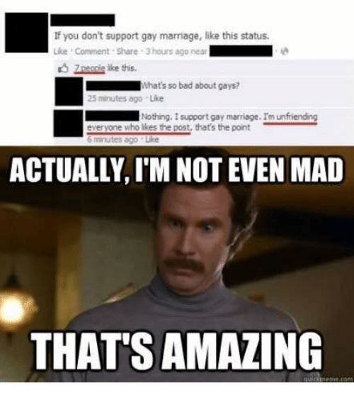 political wife supports gays