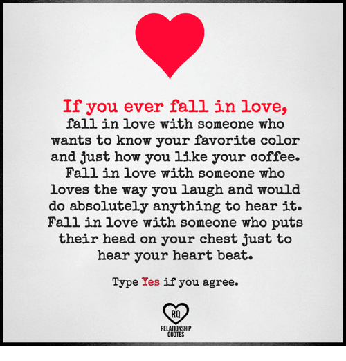 Fall, Head, And Love: If You Ever Fall In Love, Fall In