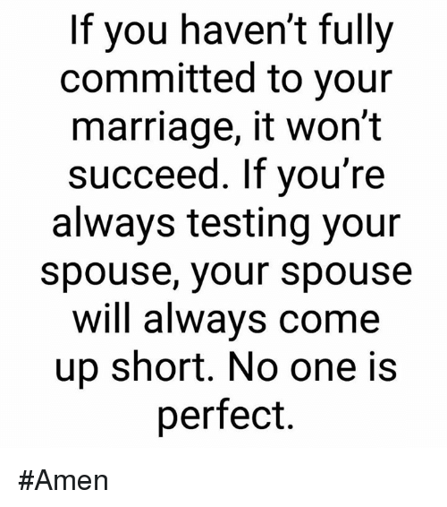 fully committed to you
