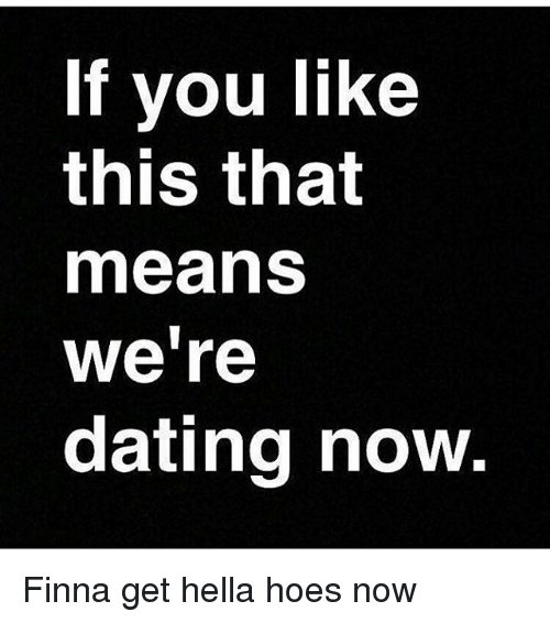 Were dating means