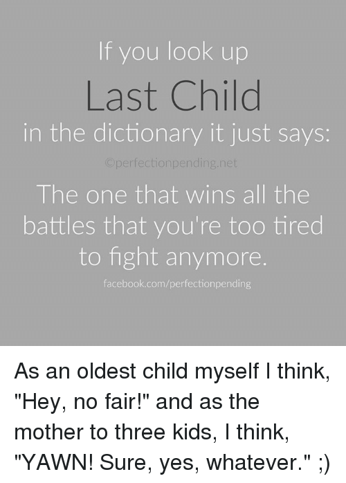 Oldest Child