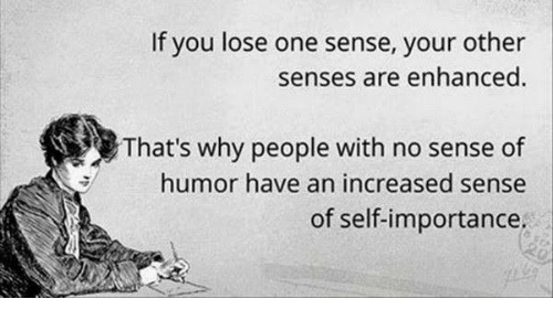 You A People Of Humor Sense With than those