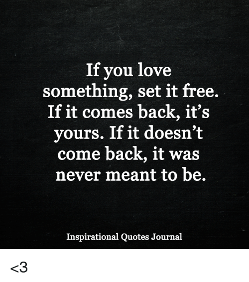 If you love someone set it free quotes