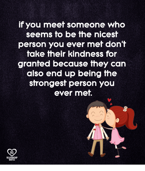 Meet someone in person