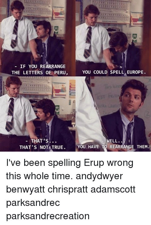 spell i could be wrong