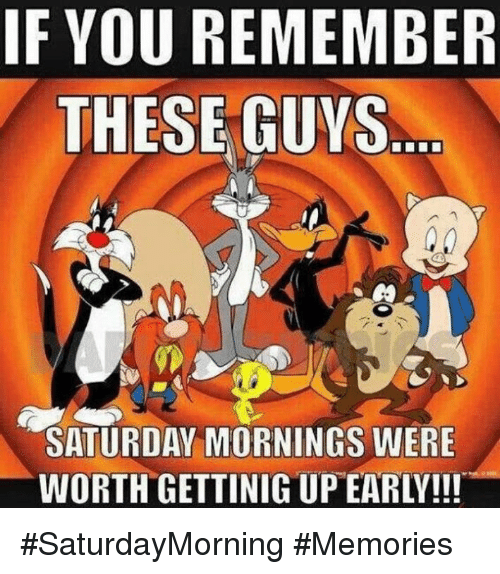 My Saturday mornings used to be lit 🔥 with these guys. 😂😂   SteemPeak