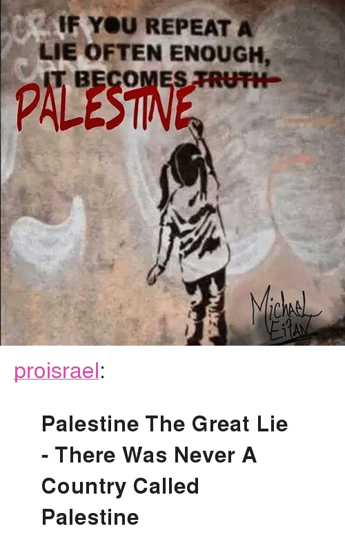 Image result for Palestine lie