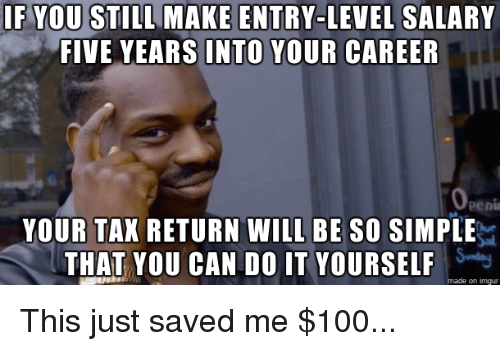 If you still make entry level salary five years into your career advice animals salary and you can do it if you still make entry solutioingenieria Images