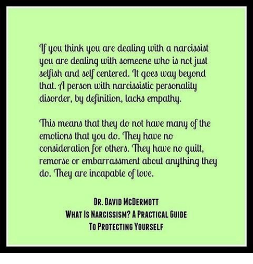 If You Thinh You Are Dealing With a Narcissist Cu Are
