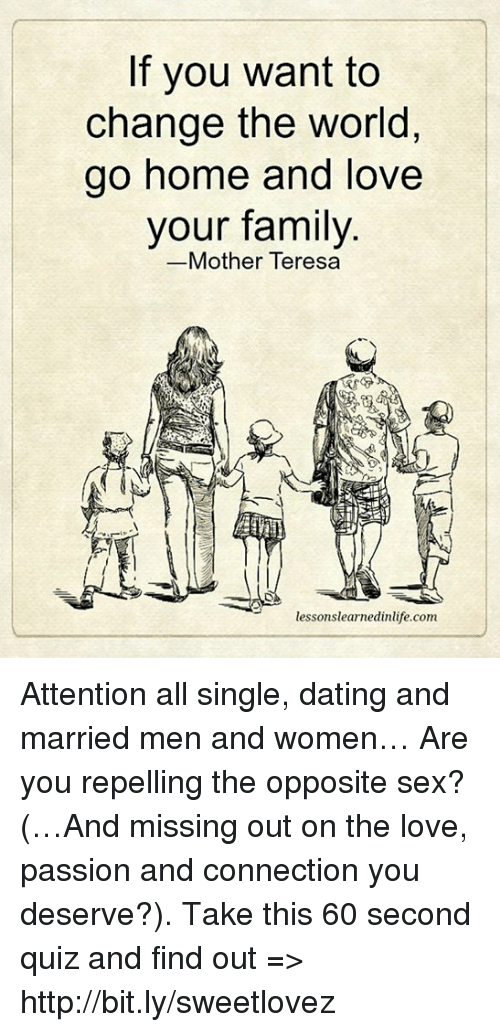 mother dating a married man