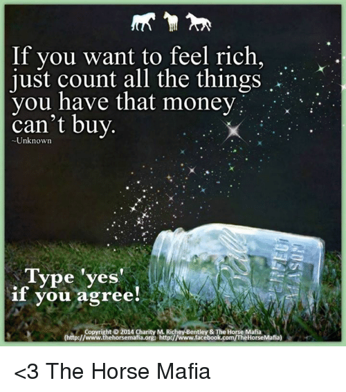 If You Want To Feel Rich Just Count All The Things You