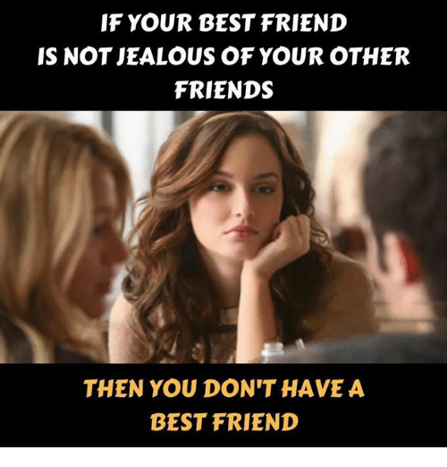 How to tell if your friend is jealous