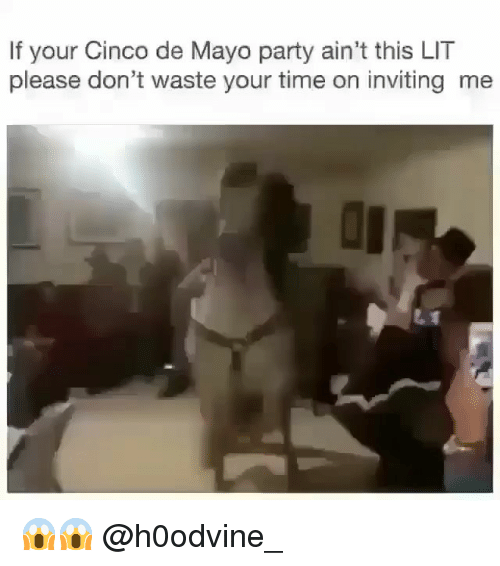 Lit, Party, and Cinco De Mayo: If your Cinco de Mayo party ain't this LIT  please don't waste your time on inviting me 😱😱 @h0odvine_