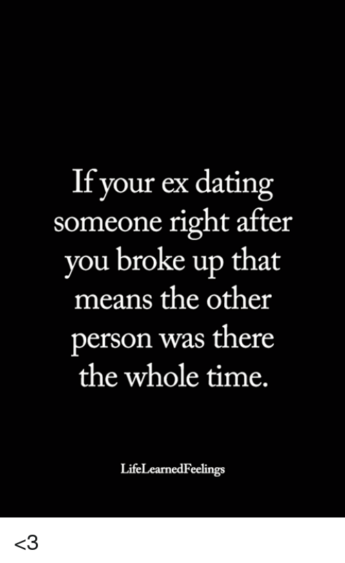 What is dating someone means