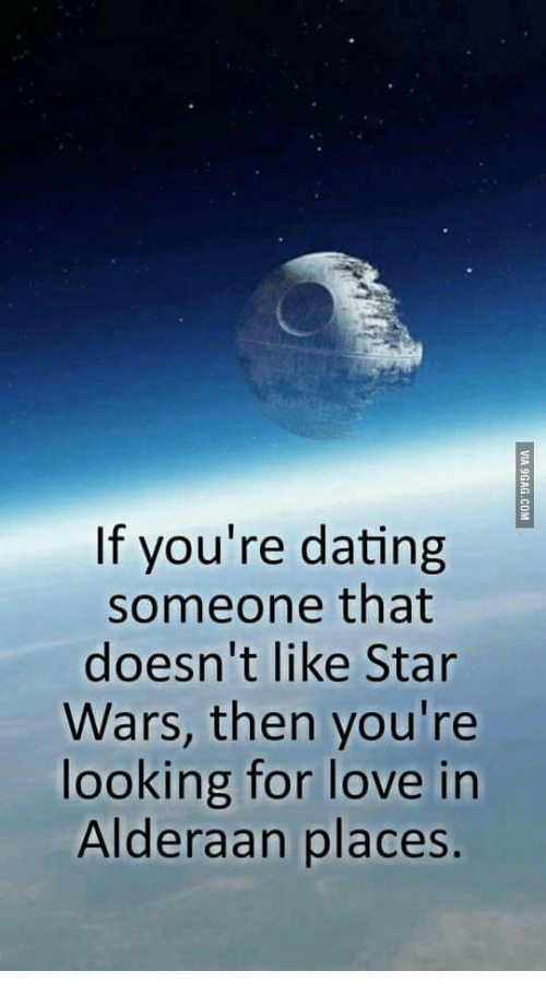 When your dating a girl who loves star wars