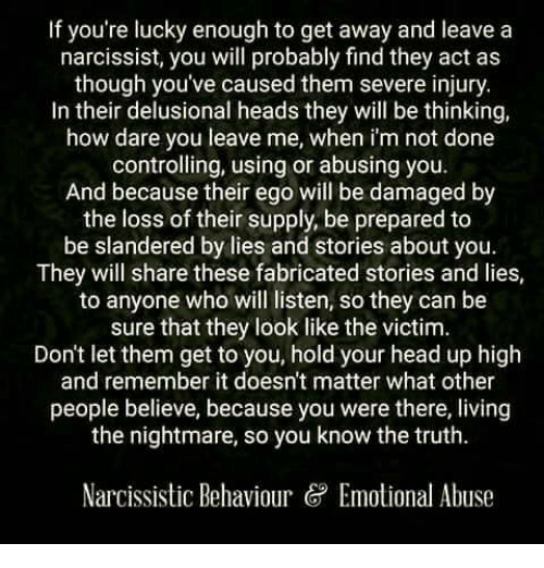 A It Why Leave Narcissist Is To Hard