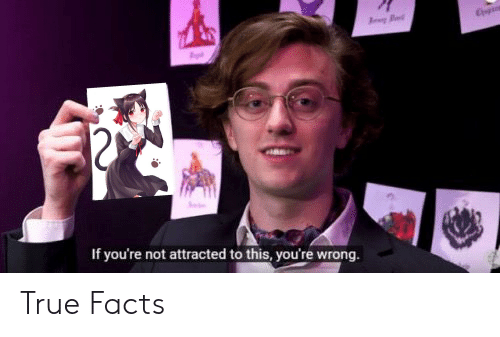 Anime, Facts, and True: If you're not attracted to this, you're wrong True Facts